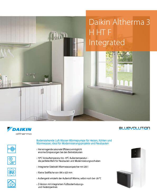 Daikin Altherma 3 Integraded