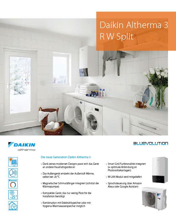 Daikin Altherma 3 Split