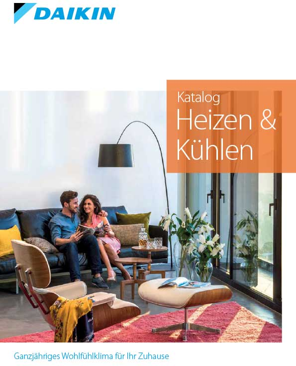 Daikin Cover - Heizen & Kühlen 2019