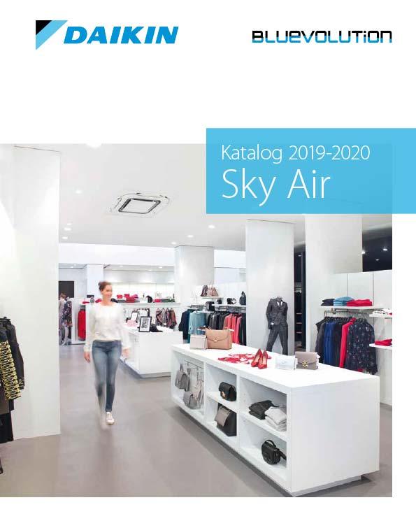 Cover Daikin Katalog - Sky Air