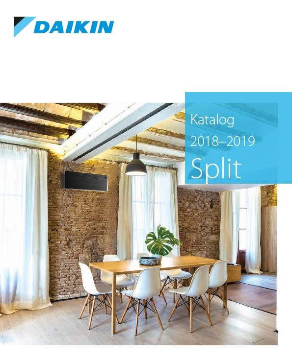 Cover Daikin Katalog - Splitklimaanlagen