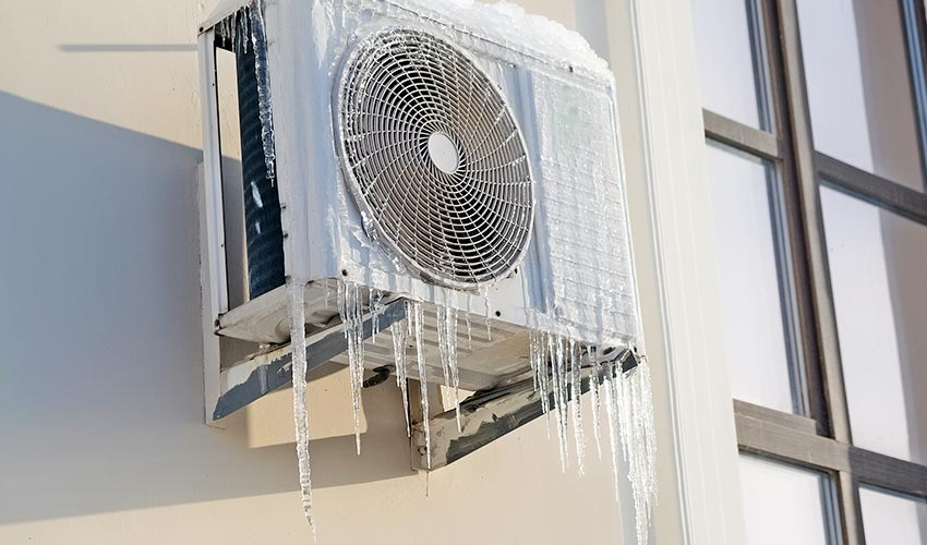 Vereiste Klimaanlage