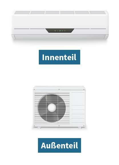 Bild von Split Klimaanlagen Außen- & Innenteil